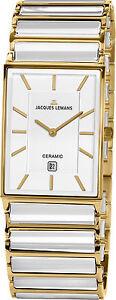 JACQUES LEMANS JL UHR YORK KERAMIK CERAMIK 5 ATM wd 1593 F 1-1593F