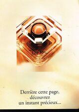 Publicité advertising 1994 Parfum Trésor de Lancome