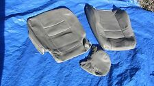1998 Volvo S70 V70 XC70 GLT SE T-5 Grey Driver Left Leather Seat Cover Set Of 3
