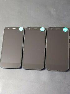 job lot 3x Motorola Moto G 1st gen Unlocked - Fully working used handsets