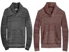 New Mens American Rag Cie Shawl Collar Cotton Pullover Sweater