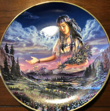 Royal Doulton 90's Franklin Mint Maiden Of Sacred Range Plate By David Penfound