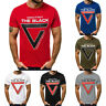 Fashion Men Casual Slim Letter Printed Short Sleeve T Shirt Tops Blouse Comfort