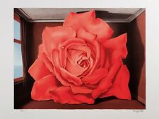 René Magritte - The Tomb of the Wrestlers (signed & numbered lithograph)