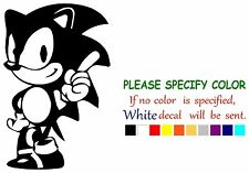 "Sonic the Hedgehog Funny Vinyl Decal Sticker Car Window bumper laptop tablet 7"""
