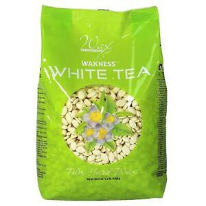 Waxness Wax Necessities Film Hard Wax Beads - White Tea Cream 35.27 oz (1000g)