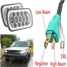 "7x6'' 5X7"" LED Projector Headlight Beam DRL For Jeep Car 85W Waterproof Headlamp"