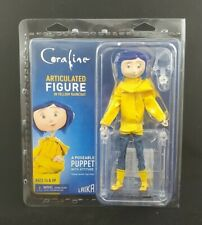 "CORALINE - 7"" ARTICULATED FIGURE IN YELLOW RAINCOAT - NECA 2019"