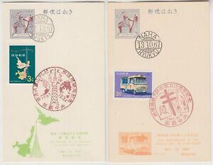 JAPAN RYUKYU ISLANDS 1967 *15th annive RYUKYU anti TB* & *opening of TV station*
