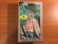 Agatha Christie's Miss Marple A Murder is Announced VHS Video with Joan Hickson