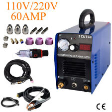 IGBT Plasma Cutting Machine cutter 60AMP with free accessories in USA warehouse