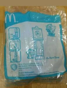 Mcd MacDonald toy Tom & Jerry clock tower Tom time