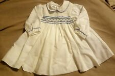Sarah Louise England Smocked Embroidered Dress Portrait Perfect   Size 6 Months