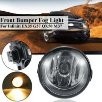 Front Bumper Fog Light For Nissan Rogue Cube Quest / Infiniti EX35 G37 QX50  J