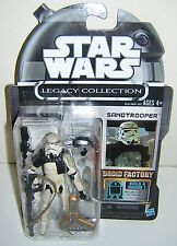 Star Wars Legacy Collection Droid Factory Sandtrooper CANCELLED SUPER RARE !