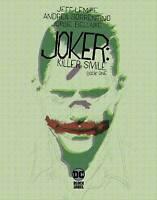 JOKER KILLER SMILE #1 (2019 DC) NM 1ST PRINT JEFF LEMIRE SORRENTINO COVER A