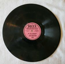 Ike, Mr. President 78 RPM Record Fred Waring & His Pennsylvanians Sample Copy