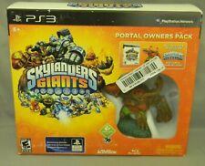 """Nintendo PS3 Skylanders Giants Portal Owners Pack """"Tree Rex Life"""" MIB"""