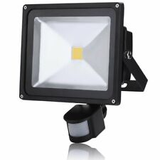 PIR 30W Motion Sensor LED Flood Light Lamp Warm White Outdoor Security Lights