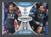 2020 VIRGIL VAN DIJK TRENT ALEXANDER ARNOLD TOPPS CHROME UEFA CHAMPIONS LEAGUE