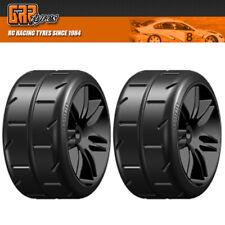 NEW GRP 1:5 TC W02 REVO NEW M1 XSoft Tires Mounted on BLK Wheel 2) FREE US SHIP