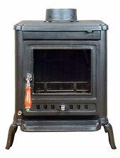 EVERGREEN Yew 5kw Cast Iron Multi Fuel Wood Burning Stove Log Burner Coal