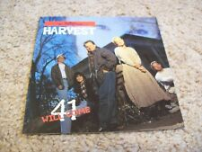 Harvest - 41 Will Come CD *RARE* 1995 Jerry Williams