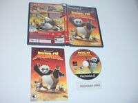 KUNG FU PANDA game complete in case w/ manual - Sony Playstation 2 PS2