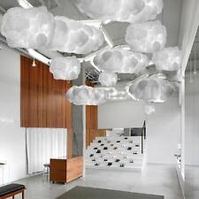 White Floating Cloud Pendant Lamp Light Decoration For Home Bar Hotel Child Gift