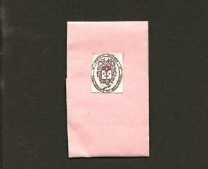 Vtg RELIC PETALS touched COFFIN St.THERESE LISIEUX Infant Jesus w/Official Seal
