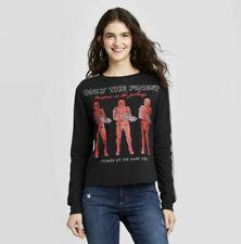 STAR WARS Women's Junior's Long Sleeve Graphic T-Shirt Tee Stormtrooper Black