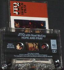 JTQ Noel McKoy Hope & Pray Theme From Tomorrow People CASSETTE SINGLE ACID JAZZ