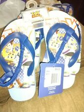 Disney toy story Toddler Flip Flop Sandals - Multi-Colored size L
