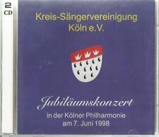 B- 2 CD Kreis-Sängervereinigung Köln e.V. Kölner Philharmonie am 7. Juni 1998