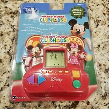 Mickey Mouse Clubhouse Electronic Handheld VideoGame Disney Electric Game