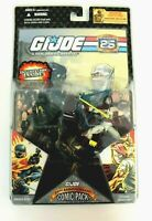 "GI Joe Comic Pack Snake Eyes + Storm Shadow 3.75"" MOC 2007 25th Anniversary"