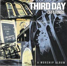 CD Third Day. Offerings. CCM. Música Cristiana Contemporánea