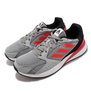 adidas Response Run Silver Red Grey Men Running Sports Shoes Sneakers FY5956