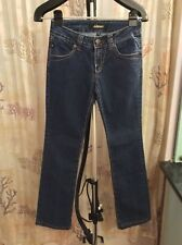 Serfontaine  Embroidered Stitch Stretch Womens Size 25 Midrise Jeans