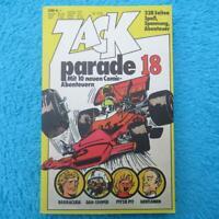 ZACK Parade 18 Comic Comics 1976 Taschenbuch Koralle Verlag