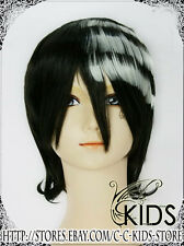 Soul Eater DEATH THE KID cosplay wig costume