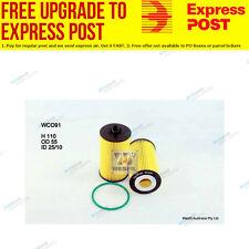 Wesfil Oil Filter WCO91 fits Holden Barina 1.6 i (TM)