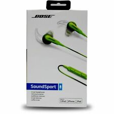 Bose SoundSport In-Ear Headphones with Mic for iPhone/iPod/iPad