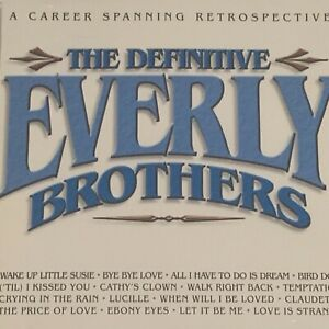 The Definitive Everly Brothers CD Like New