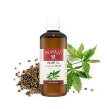 Cannabis Sativa Hemp Oil Diabetes Psoriasis Skin Hair Care Organic Pain Relief