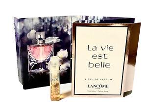LANCOME LA VIE EST BELLE 1.2ml L'EAU DE PARFUM SAMPLE NATURAL SPRAY