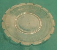 Ripley & Co. EAPG Pressed Glass Number and Alphabet Clock Child's Plate Children