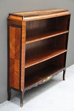 French marquetry  bookcase gilt ormolu bronze mounts brazillian rosewood inlaid