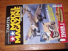 $$$ Revue Tamiya Model Magazine N°30 Tiger IBeaufighter Mk VIMoto Guzzi Cent