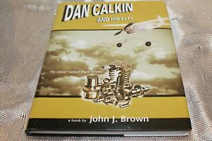 DAN CALKIN ELF GLOW IGNITION MODEL ENGINES AIRPLANE TETHER CAR BOOK RARE